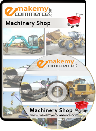 Discount Offer ! Machinery Shop Website