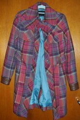Checked Coat for Sale